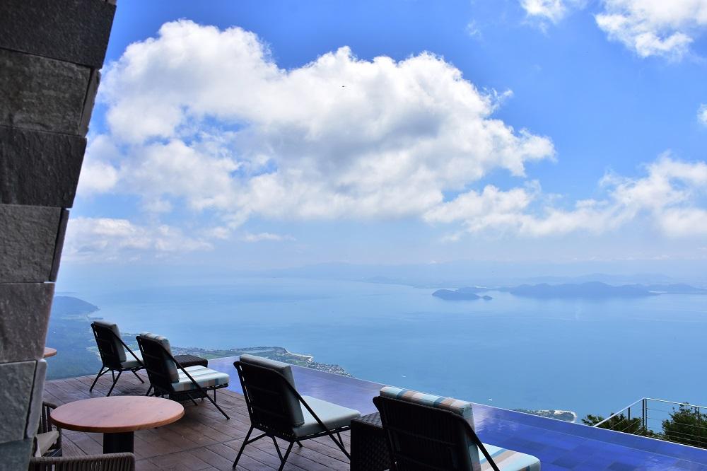びわ湖テラスからの絶景