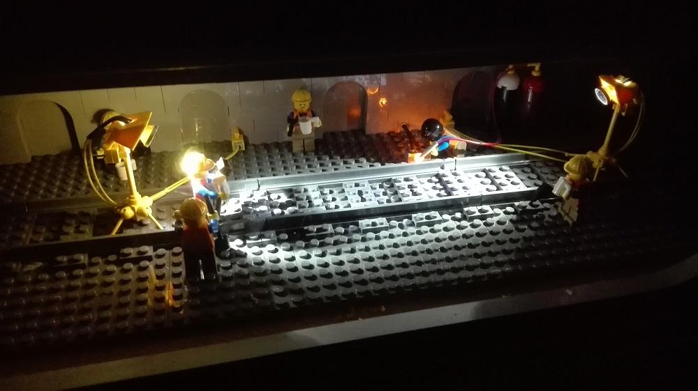 レゴブロック工事中につき