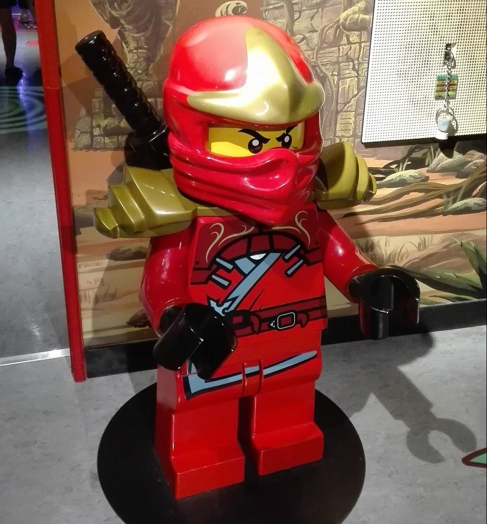 レゴブロック忍者でっかいの