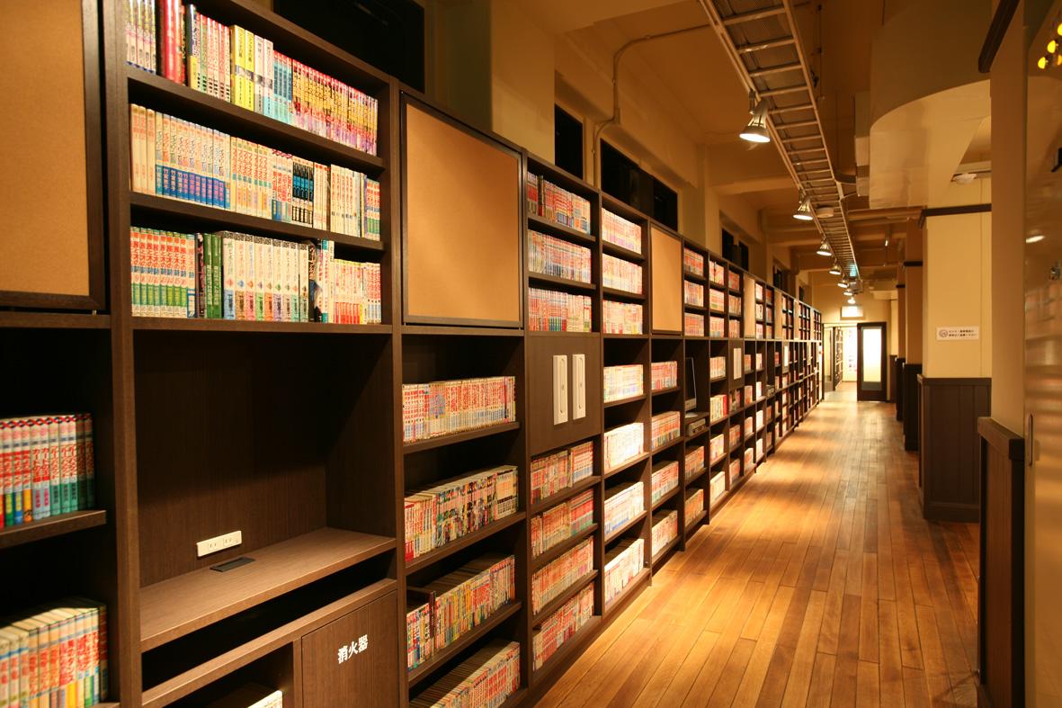 マンガの壁京都国際マンガミュージアム
