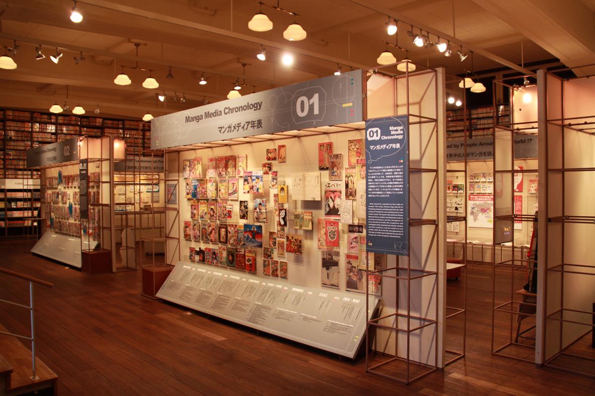 メインギャラリー京都国際マンガミュージアム